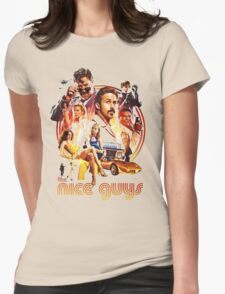 the nice guys Womens Fitted T-Shirt