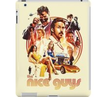 the nice guys iPad Case/Skin