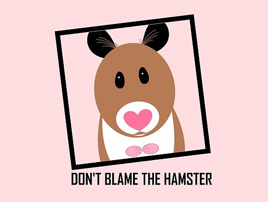 DON'T BLAME THE HAMSTER by Jean Gregory  Evans