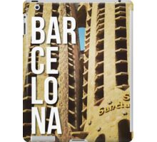 BARCELONA SAGRADA FAMILIA GAUDI ARCHITECTURE PHOTOGRAPHY iPad Case/Skin