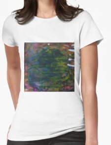 Jungle Pond Womens Fitted T-Shirt