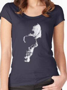 Nightmares... Skull Women's Fitted Scoop T-Shirt
