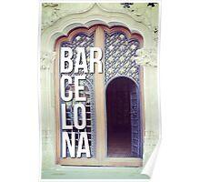 BARCELONA DOOR SPAIN WANDERLUST SPAIN Poster
