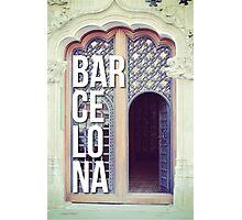 BARCELONA DOOR SPAIN WANDERLUST SPAIN Photographic Print