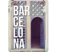 BARCELONA DOOR SPAIN WANDERLUST SPAIN iPad Case/Skin