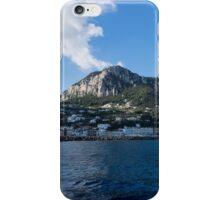 Capri Island From the Sea iPhone Case/Skin