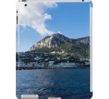 Capri Island From the Sea iPad Case/Skin