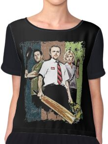 Shaun of the Dead Chiffon Top