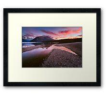 Lake Rotoiti - Nelson Lakes - New Zealand Framed Print
