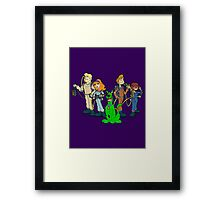 The Real Scooby Busters! Framed Print