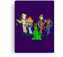 The Real Scooby Busters! Canvas Print