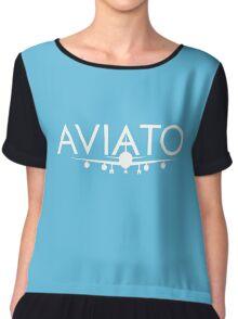Aviato Startups - SIlicon Vallley Chiffon Top