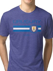 Copa America 2016 - Uruguay (Away White) Tri-blend T-Shirt