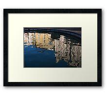Reflected Architecture - Plovdiv, Bulgaria Framed Print