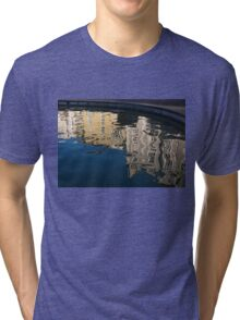 Reflected Architecture - Plovdiv, Bulgaria Tri-blend T-Shirt