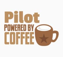 pilot powered by coffee Baby Tee