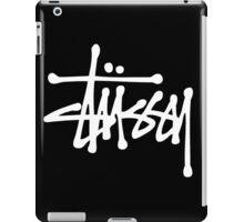 White Stussy Logo! high quality! iPad Case/Skin