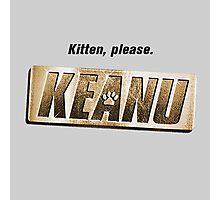 Keanu kitten please Photographic Print