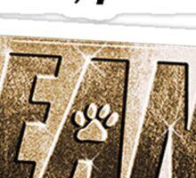 Keanu kitten please Sticker