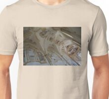 Ravages of Time - the Faded Beauty of an Elegant Church on Capri Island  Unisex T-Shirt
