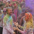 HOLI, Indian Festival of Colour, in San Diego County 2016  by Heather Friedman