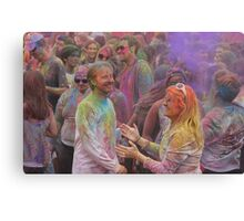 HOLI, Indian Festival of Colour, in San Diego County 2016  Canvas Print