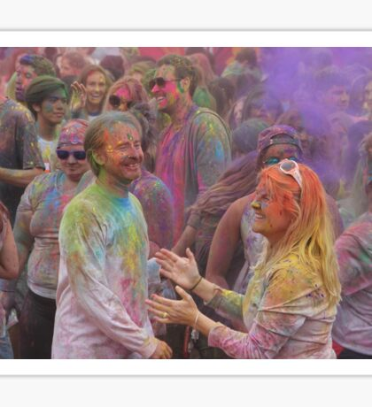 HOLI, Indian Festival of Colour, in San Diego County 2016  Sticker