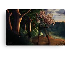 Elf Girl Canvas Print
