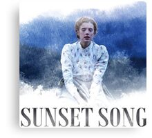 sunset song Canvas Print