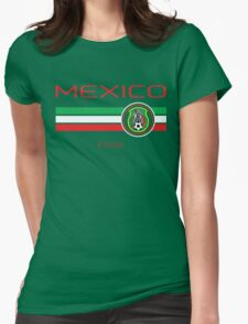 Copa America 2016 - Mexico (Home Green) Womens Fitted T-Shirt