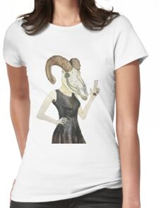 She Devil Womens Fitted T-Shirt