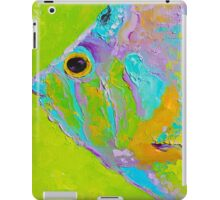 Colorful Tropical Fish painting iPad Case/Skin