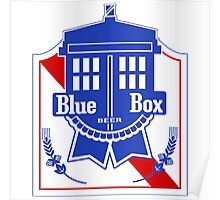 Policebox Blue Box Beer Poster