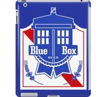 Policebox Blue Box Beer iPad Case/Skin