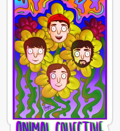 animal collective! Sticker