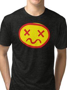 crazy unhappy Tri-blend T-Shirt