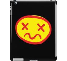 crazy unhappy iPad Case/Skin