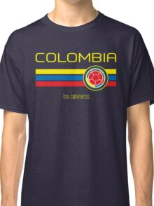Copa America 2016 - Colombia (Away Dark Blue) Classic T-Shirt