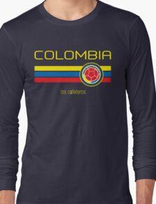 Copa America 2016 - Colombia (Away Dark Blue) Long Sleeve T-Shirt