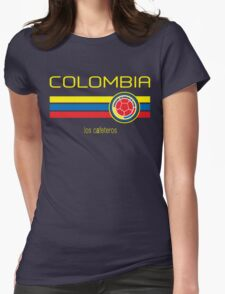 Copa America 2016 - Colombia (Away Dark Blue) Womens Fitted T-Shirt
