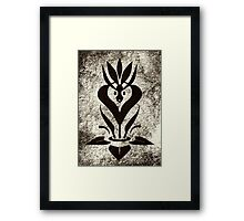 Sweet Mythology Graphic Design Framed Print