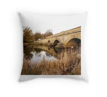 Ross Bridge Autumn Colours Throw Pillow