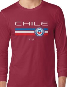 Copa America 2016 - Chile (Home Red) Long Sleeve T-Shirt