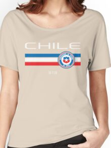 Copa America 2016 - Chile (Home Red) Women's Relaxed Fit T-Shirt