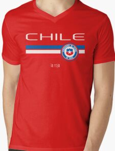Copa America 2016 - Chile (Home Red) Mens V-Neck T-Shirt