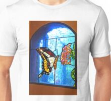 Butterfly Glass Unisex T-Shirt