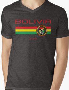 Copa America 2016 - Bolivia (Home Green) Mens V-Neck T-Shirt