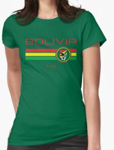 Copa America 2016 - Bolivia (Home Green) Womens Fitted T-Shirt