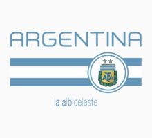 Copa America 2016 - Argentina (Home White) by madeofthoughts