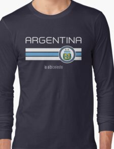 Copa America 2016 - Argentina (Away Blue) Long Sleeve T-Shirt